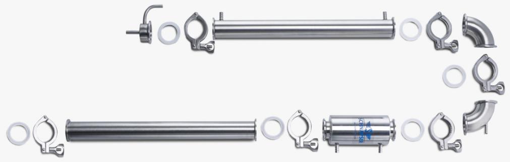 Составные элементы колонны Schnapser X2