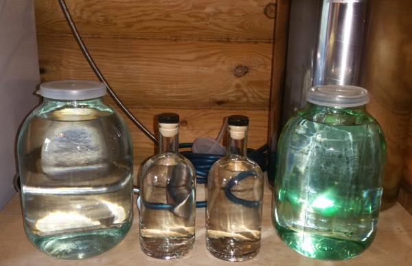 Приготовление водки на основе самогона