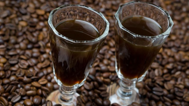 Настойка на кофейных зернах